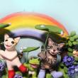 優しい虹♪HappyWedding♪ 制作風景です