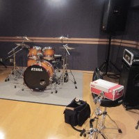 バンド練習へ・・・
