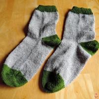 つま先から編む靴下 *Step02* 3e