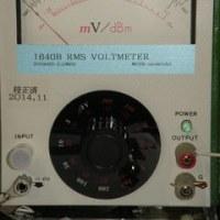 超低歪探求 no399 アナログ電圧計