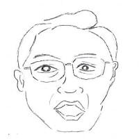 12月9日のチョコット似顔絵