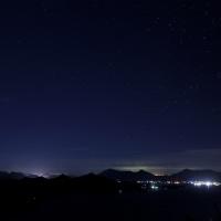 筆景山から見る夜景