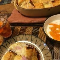 4月8日 夕飯…チーズトースト