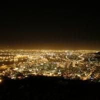 「東南アフリカ」編 ケープタウン1 市街地夜景