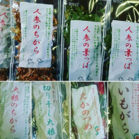 乾燥野菜シリーズ!