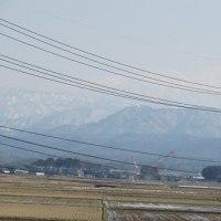 柴山潟からの山々・・・