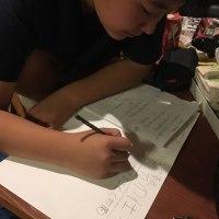 日曜深夜に宿題出すなー!