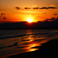 『夕景』 北浜