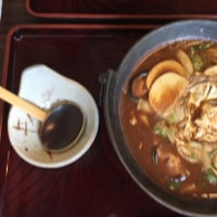 初めての 味噌煮込みうどん in名古屋