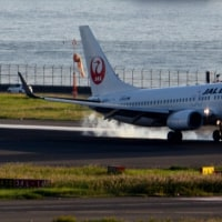 羽田空港の表情