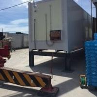 コンテナ置きました  ◆◆冷蔵・冷凍が必要な食品・グルメ専門の発送代行サービス◆◆
