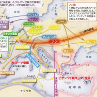 世界史(ゲルマン民族大移動)