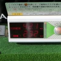 ゴルフの練習 3月25日編