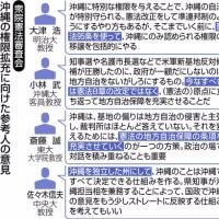 ●「基地の偏在を沖縄が訴えても「裁判所はほとんど答えない」」…「政治判断」しかできない司法の悲劇