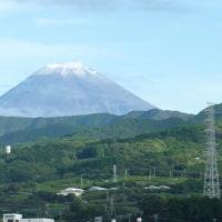富士山初冠雪?初雪かな?
