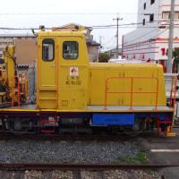 南海電鉄工務部車両MC-No.302 砂利運搬車両