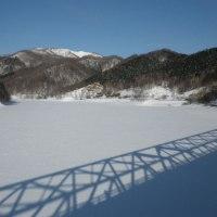 仁頃山(流氷は見えず H29初)