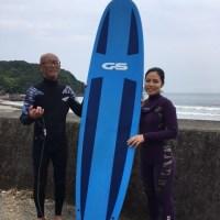 今日のサーフィンスクール(5/24)★LES