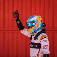 アロンソ、今季初のF1予選Q3進出、7位の快挙に笑顔「上位争いできる位置を確保した!」チームにも感謝