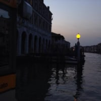 2年前、ヴェネツィアにて