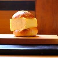 出汁巻きがバーガーに-京都市上京区:「knot cafe」