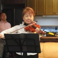 バイオリンは繊細です(長田ゆり子)