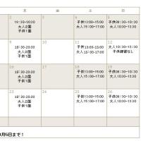 2017年度 2月練習日程