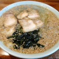 Weekdayの麺処巡り 丸信らーめん駅前店 で 塩チャーシューメン