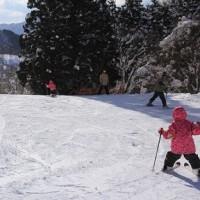 奥伊吹スキー場へ 再び
