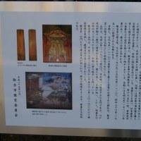 茨城県取手市、東漸寺のイチョウとクスノキです!!