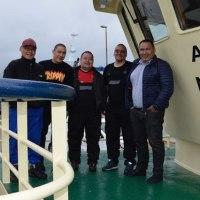 Vestværftetからカニ漁船が   Greenland