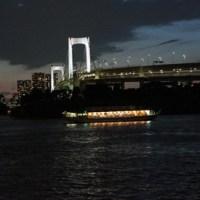 隅田川を屋形船でナイトクルーズ!東京の夜景!