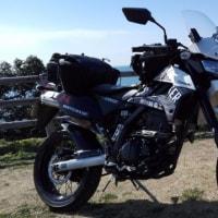 バイク日記その163 カワサキDトラッカーX 3月18日京奈和和歌山側開通にて5月までの予定