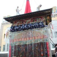 祇園祭 前祭の山鉾巡行~後祭の花笠巡行と山鉾巡行 (友人投稿)