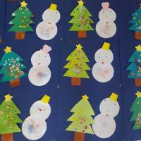 クリスマスツリー&ゆきだるま☆