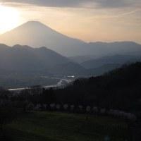 篠窪(しのくぼ)より見る 夕方の富士山 写真集