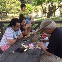 ばら園まつり『蚕糸記念館』での世界遺産活動報告