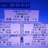 イイ雪降ってますよ~\(^o^)/