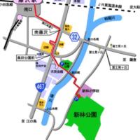 ウオーキング・新林公園@藤沢