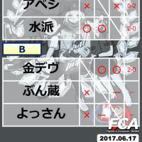 2017.06.17 SFVシングル大会&対戦会 FCA「メジャボ杯」について