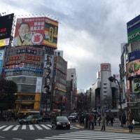渋谷・冬の心象風景 ~ スクランブル交差点
