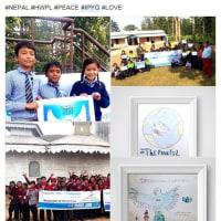 世界へ発信する ネパールの子どもたちの平和への願い