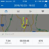 ジョギング記録・10