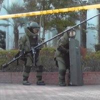 テロ対策避難訓練コンサート