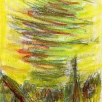 朝日記140428 畏友安部忠彦さんからのメッセージ 「三つの宝」と今日の絵