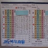 今日のゴルフ挑戦記(76)/東名厚木CC アウト→イン(A)