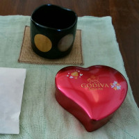 節分の福豆 バレンタインのチョコ
