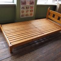 170330-95 ベッド(木製)