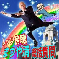 静岡市議会総括質問をレッツ傍聴!まつやの質問は27日です!