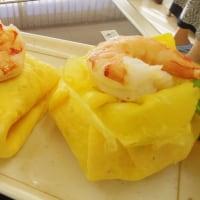 料理教室戸塚塾で「茶巾寿司とふくさ寿司」を作った
